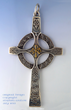 Celtic Pectoral Cross by Walker Metalsmiths.
