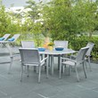 Telescope Casual Kendall Sling 7 Piece Patio Dining Set