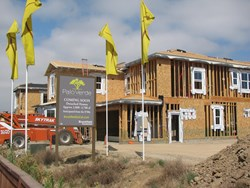 Brookfield Residential's Palo Verde community underway in Carlsbad, CA.