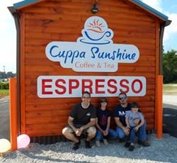 Cuppa Sunshine Coffee & Tea, Dickson, Tenn.