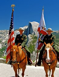 Members of Yosemite's Mounted Patrol will be a part of the annual Mountain Heritage Days Parade