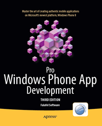 Pro Windows Phone App Development Covert