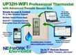 NetworkThermostat Announces Two New Thermostats UP32H-IP and...