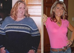 Terry before and after weight loss