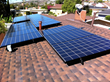 Photovoltaic solar system installed with a GAF roof in Los Angeles, CA