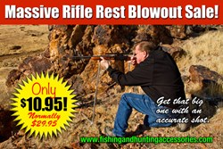 rifle rest, fishing pole rest, buy rifle rest