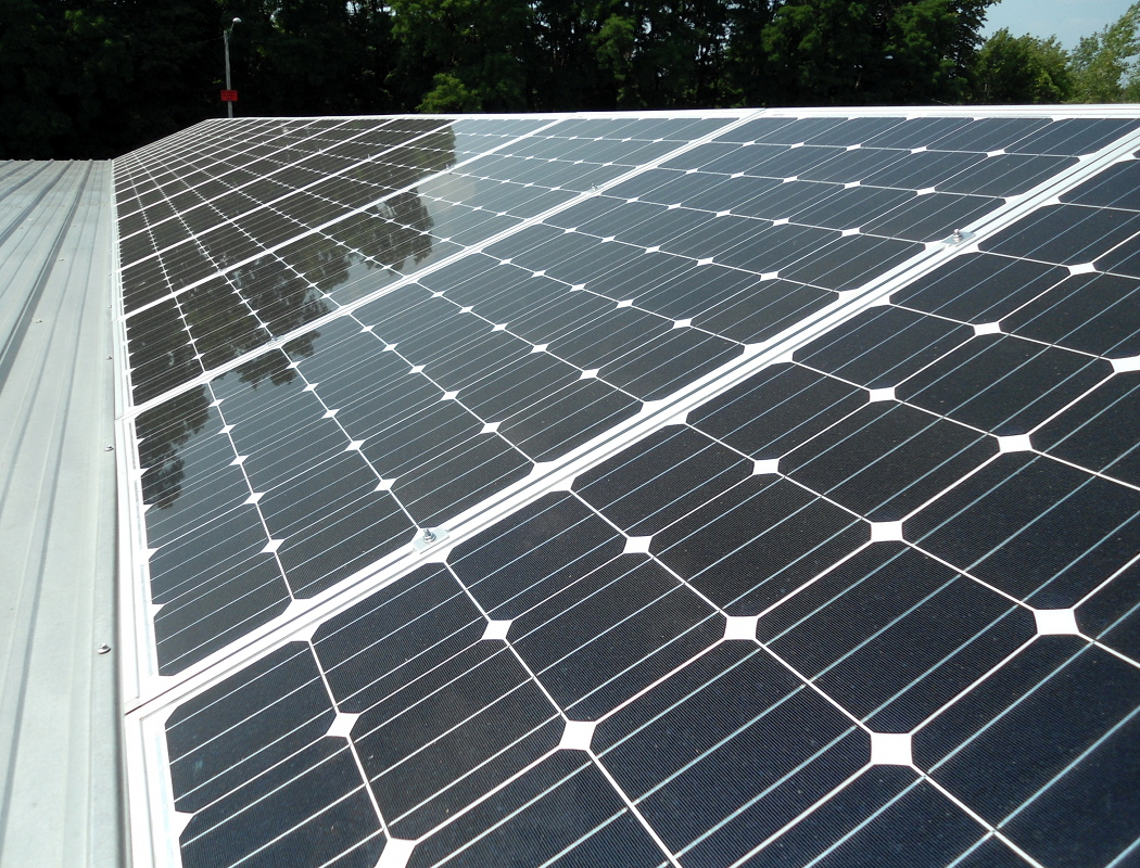 50kw Solar Array Installed At New Energy Works