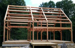 Timber Frame Home - The Susquehanna