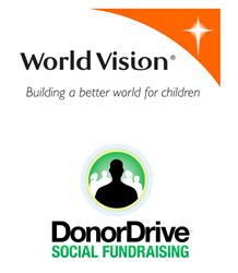 World Vision DonorDrive Logos