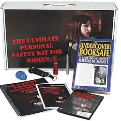 The SafeFamilyLife™ Ultimate Personal Safety Kit for Women contains everything that women need to enhance their security and reduce risk.