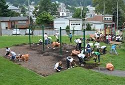 Students clean up Pendora Park