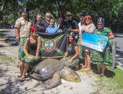 South Florida Turtles and their protected habitat are the beneficiaries of a donation from a tiki-themed fraternal organization which celebrates Polynesian culture.