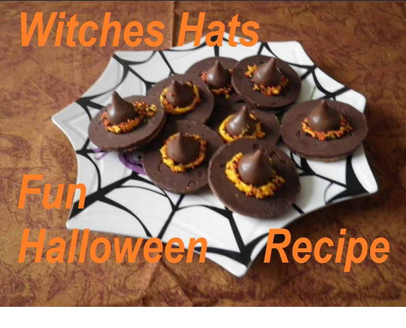 witches hats squash people - Unique Halloween Desserts