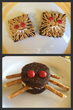 Monster and Spider Brownies