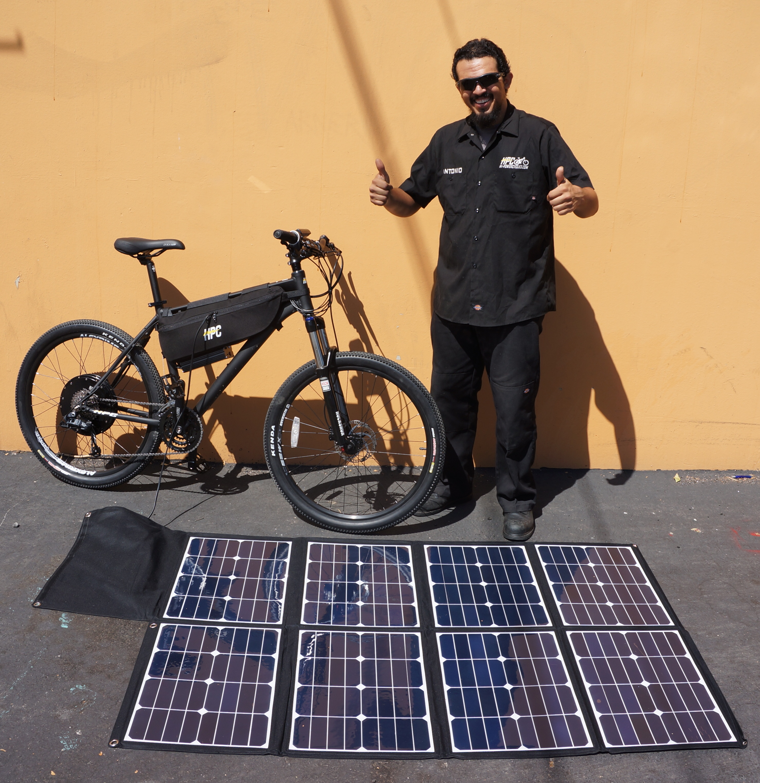 Hi Power Cycles Releases Revolutionary New Folding Solar