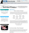 HR Strategies Upgrades Efficiency in Service Center on Website