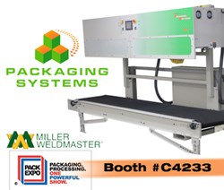 Miller Weldmaster will be exhibiting at Pack Expo