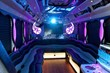 CT Party Bus Stunning Interior