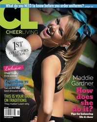CheerLiving magazine, released by Cheerleading Blog