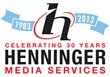 Henninger celebrates 30 years as the Mid-Atlantic region's premiere post-production facility.