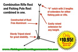 buy rifle rests, combo rifle rest,