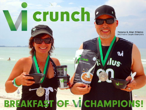 New Vi Crunch Super Protein Cereal Gives a Body by Vi Champion a Healthy Fast Food Option