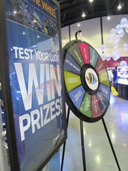 The Marine Depot prize wheel has become a staple of Reef-A-Palooza. The company promises plenty of free samples, T-shirts and goodies for 2013 attendees.