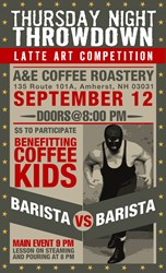 A&E Coffee September 12 TNT