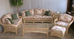 Grand Cayman Rattan Wicker Seating Set   -AnniesWickker.com