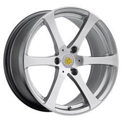 Smart Car Wheels by Genius - the Newton style in hyper silver