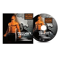 "Insanity ""Fast and Furious"" Bonus DVD"
