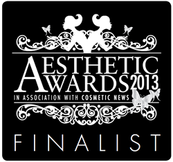 Viora Finalist in Aesthetic Awards 2013