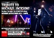 Michael Jackson Tribute Show starring Anthony King at the Shaw Theatre, London
