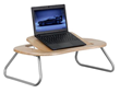 Flash Furniture Angle Adjustable Laptop Computer Table with Dark Natural Top NAN-JN-2779-GG