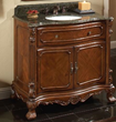 """sagehill designs br3621 36"""" Bathroom Vanity cabinet from the barrister collection"""