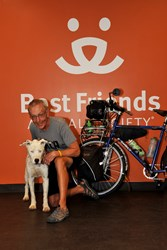 pedal for paws floyd lampart homeless pets best friends animal society
