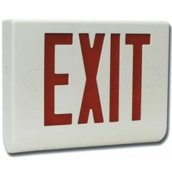 Safety Technology's Exit Sign Hidden Camera with Built-In DVR is a fully-functional sign that plugs into any standard outlet.