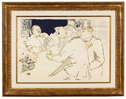 "Henri Toulouse-Lautrec, ""The Chap Bar,"" Artist's Proof"