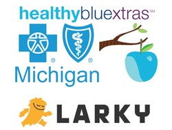 Blue Cross Blue Shield of Michigan chose Larky to raise awareness and increase usage of Healthy Blue Xtras.