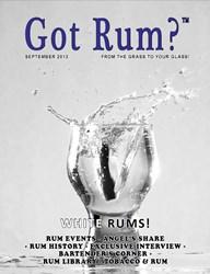 """""""Got Rum?"""" September 2013"""