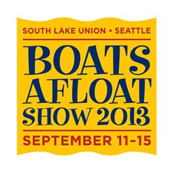 Lake Union Boats Afloat Show logo