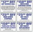 YB Plumbing Coupons to Print