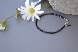 Black Spinel Bracelet from Nature's Splendour® by Elizabeth Pings