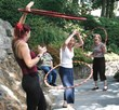 TFI Envision team enjoys hula hoop lessons