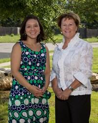 Dr. Crystal Salinas and Dr. Marta Katalenas