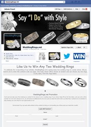 Win a Free Pair of Wedding Rings by Entering Our Facebook Contest