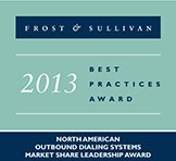 Frost & Sullivan 2013 Market Leader Award