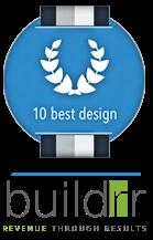 Web Design Company Buildrr is a 10BD Award