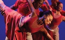 A photo of the Dallas Black Dance Theatre