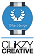 Top Web Design Companies Awards Includes CLiKZY Creative As #2 by 10...